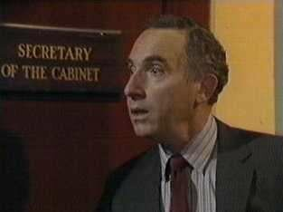 A nervous Sir Humphrey visits the Cabinet Secretary