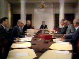 The Cabinet meeting on the plan